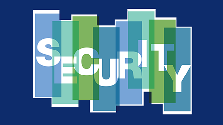 Graphic for Security Dialogues 2018 of the Kaplan Humanities Institute