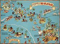 Territory of Hawaii map