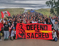 Standing Rock water protector activists